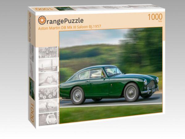 """Puzzle Motiv """"Aston Martin DB Mk III Saloon BJ.1957"""" - Puzzle-Schachtel zu 1000 Teile Puzzle"""