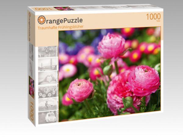 """Puzzle Motiv """"Traumhafte Frühlingsblüher"""" - Puzzle-Schachtel zu 1000 Teile Puzzle"""