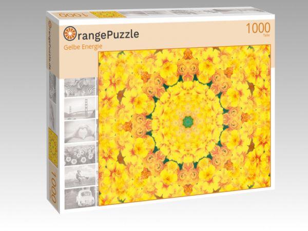 """Puzzle Motiv """"Gelbe Energie"""" - Puzzle-Schachtel zu 1000 Teile Puzzle"""