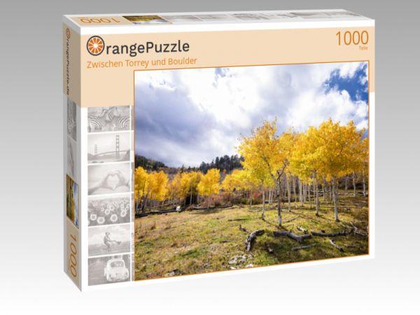 """Puzzle Motiv """"Zwischen Torrey und Boulder"""" - Puzzle-Schachtel zu 1000 Teile Puzzle"""