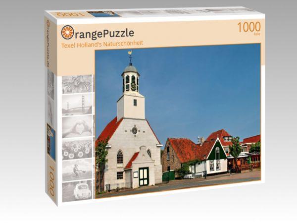 """Puzzle Motiv """"Texel Holland's Naturschönheit"""" - Puzzle-Schachtel zu 1000 Teile Puzzle"""