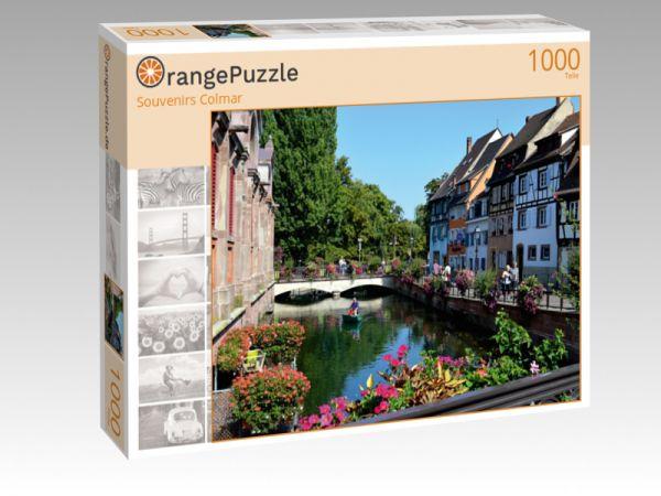 """Puzzle Motiv """"Souvenirs Colmar"""" - Puzzle-Schachtel zu 1000 Teile Puzzle"""