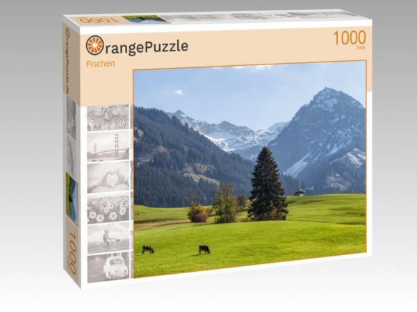 "Puzzle Motiv ""Fischen"" - Puzzle-Schachtel zu 1000 Teile Puzzle"