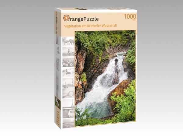 """Puzzle Motiv """"Vegetation am Krimmler Wasserfall"""" - Puzzle-Schachtel zu 1000 Teile Puzzle"""