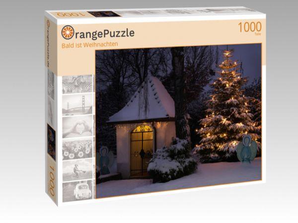 """Puzzle Motiv """"Bald ist Weihnachten"""" - Puzzle-Schachtel zu 1000 Teile Puzzle"""