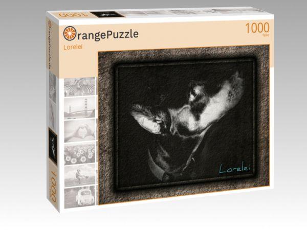 """Puzzle Motiv """"Lorelei"""" - Puzzle-Schachtel zu 1000 Teile Puzzle"""