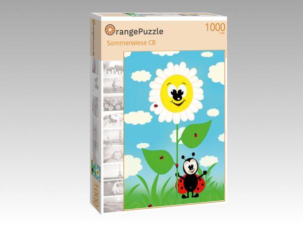 "Puzzle Motiv ""Sommerwiese CB"" - Puzzle-Schachtel zu 1000 Teile Puzzle"