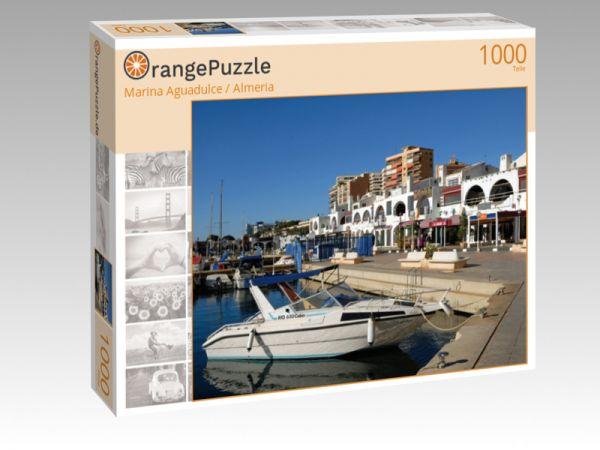 "Puzzle Motiv ""Marina Aguadulce / Almeria"" - Puzzle-Schachtel zu 1000 Teile Puzzle"
