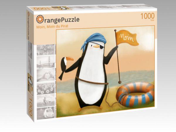 """Puzzle Motiv """"Moin, Moin du Pirat"""" - Puzzle-Schachtel zu 1000 Teile Puzzle"""
