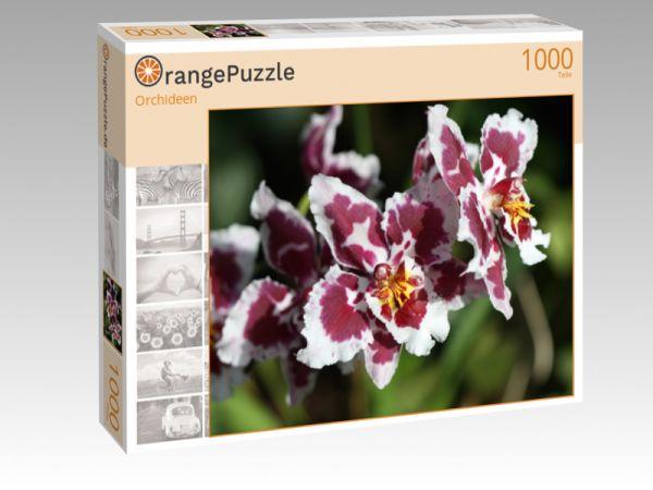 """Puzzle Motiv """"Orchideen"""" - Puzzle-Schachtel zu 1000 Teile Puzzle"""