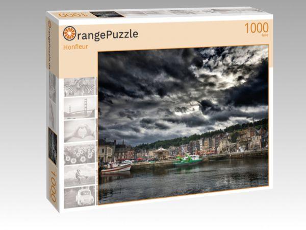 """Puzzle Motiv """"Honfleur"""" - Puzzle-Schachtel zu 1000 Teile Puzzle"""