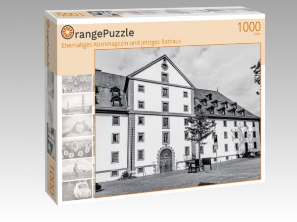 """Puzzle Motiv """"Ehemaliges Kornmagazin und jetziges Rathaus"""" - Puzzle-Schachtel zu 1000 Teile Puzzle"""