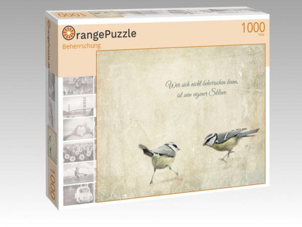 "Puzzle Motiv ""Beherrschung"" - Puzzle-Schachtel zu 1000 Teile Puzzle"