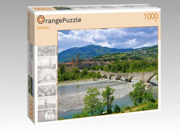 """Puzzle Motiv """"Bobbio"""" - Puzzle-Schachtel zu 1000 Teile Puzzle"""