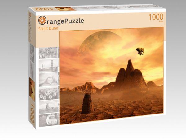 """Puzzle Motiv """"Silent Dune"""" - Puzzle-Schachtel zu 1000 Teile Puzzle"""