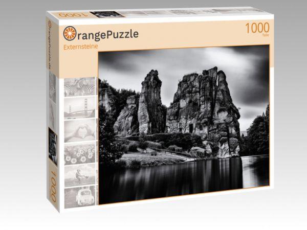 """Puzzle Motiv """"Externsteine"""" - Puzzle-Schachtel zu 1000 Teile Puzzle"""