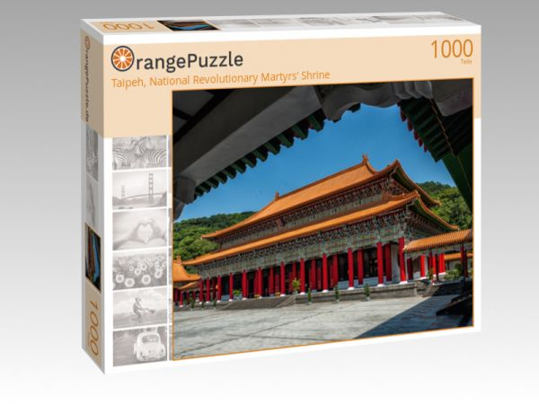 "Puzzle Motiv ""Taipeh, National Revolutionary Martyrs' Shrine"" - Puzzle-Schachtel zu 1000 Teile Puzzle"