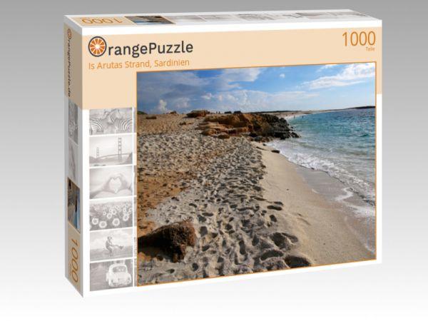 "Puzzle Motiv ""Is Arutas Strand, Sardinien"" - Puzzle-Schachtel zu 1000 Teile Puzzle"