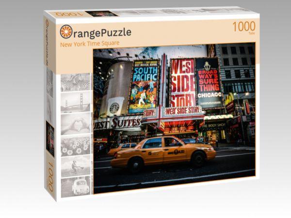 """Puzzle Motiv """"New York Time Square"""" - Puzzle-Schachtel zu 1000 Teile Puzzle"""