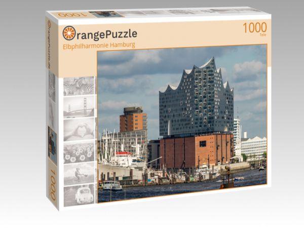 "Puzzle Motiv ""Elbphilharmonie Hamburg"" - Puzzle-Schachtel zu 1000 Teile Puzzle"