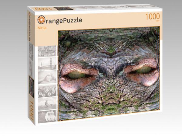 """Puzzle Motiv """"Ninja"""" - Puzzle-Schachtel zu 1000 Teile Puzzle"""