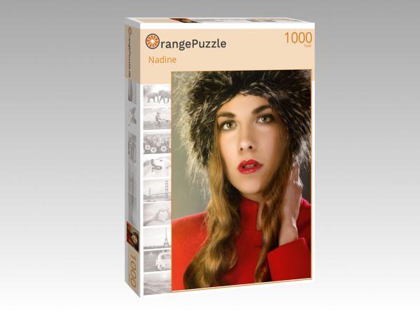 """Puzzle Motiv """"Nadine"""" - Puzzle-Schachtel zu 1000 Teile Puzzle"""