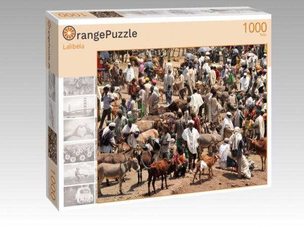 """Puzzle Motiv """"Lalibela"""" - Puzzle-Schachtel zu 1000 Teile Puzzle"""