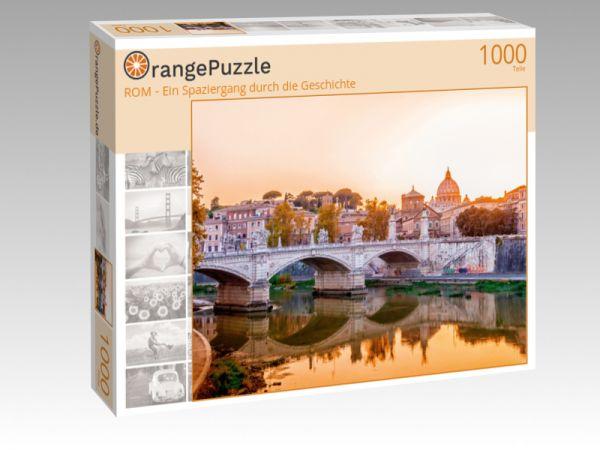 """Puzzle Motiv """"ROM - Ein Spaziergang durch die Geschichte"""" - Puzzle-Schachtel zu 1000 Teile Puzzle"""