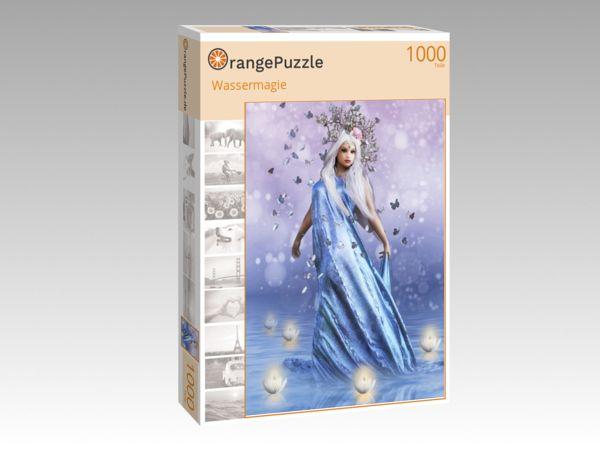 """Puzzle Motiv """"Wassermagie"""" - Puzzle-Schachtel zu 1000 Teile Puzzle"""