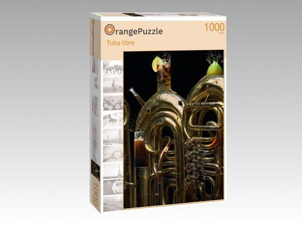 """Puzzle Motiv """"Tuba libre"""" - Puzzle-Schachtel zu 1000 Teile Puzzle"""