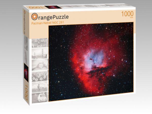 """Puzzle Motiv """"Pacman-Nebel NGC 281"""" - Puzzle-Schachtel zu 1000 Teile Puzzle"""