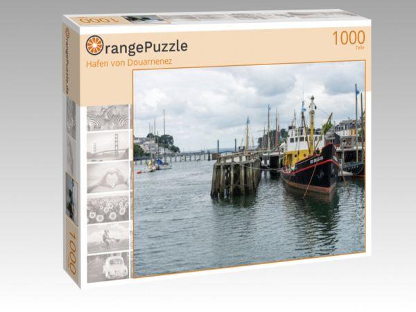 """Puzzle Motiv """"Hafen von Douarnenez"""" - Puzzle-Schachtel zu 1000 Teile Puzzle"""