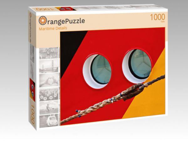 """Puzzle Motiv """"Maritime Details"""" - Puzzle-Schachtel zu 1000 Teile Puzzle"""