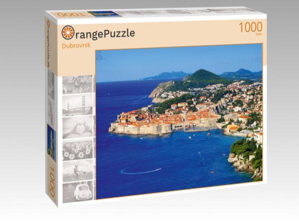 """Puzzle Motiv """"Dubrovnik"""" - Puzzle-Schachtel zu 1000 Teile Puzzle"""