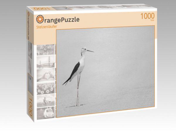 """Puzzle Motiv """"Stelzenläufer"""" - Puzzle-Schachtel zu 1000 Teile Puzzle"""