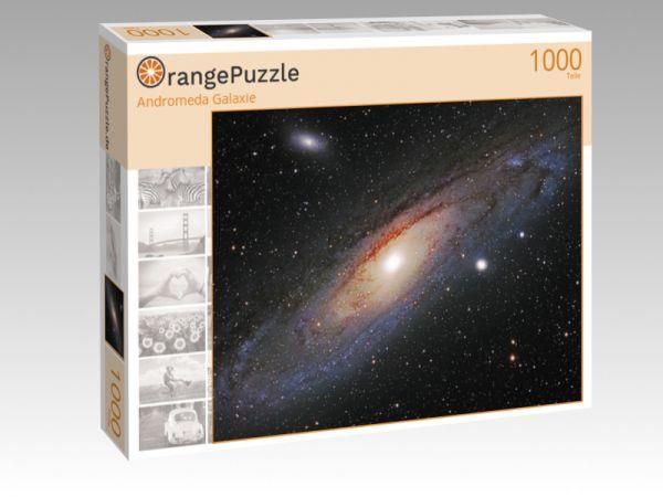 """Puzzle Motiv """"Andromeda Galaxie"""" - Puzzle-Schachtel zu 1000 Teile Puzzle"""