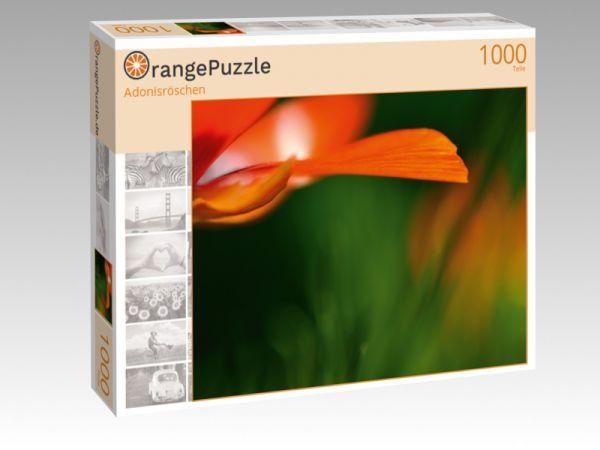 "Puzzle Motiv ""Adonisröschen"" - Puzzle-Schachtel zu 1000 Teile Puzzle"