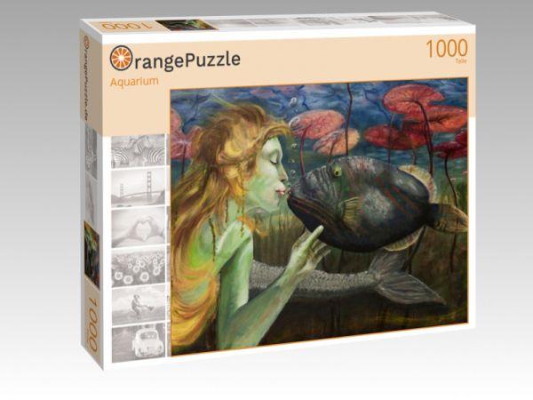 "Puzzle Motiv ""Aquarium"" - Puzzle-Schachtel zu 1000 Teile Puzzle"
