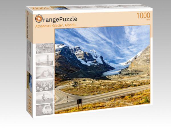 "Puzzle Motiv ""Athabasca Glacier, Alberta"" - Puzzle-Schachtel zu 1000 Teile Puzzle"