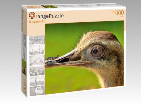 """Puzzle Motiv """"Raupenbahn"""" - Puzzle-Schachtel zu 1000 Teile Puzzle"""