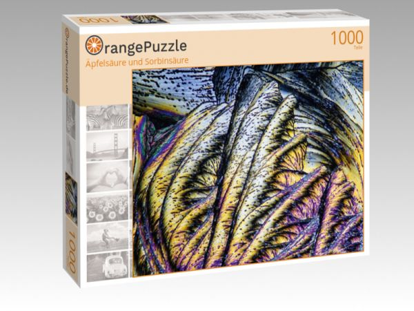"""Puzzle Motiv """"Äpfelsäure und Sorbinsäure"""" - Puzzle-Schachtel zu 1000 Teile Puzzle"""
