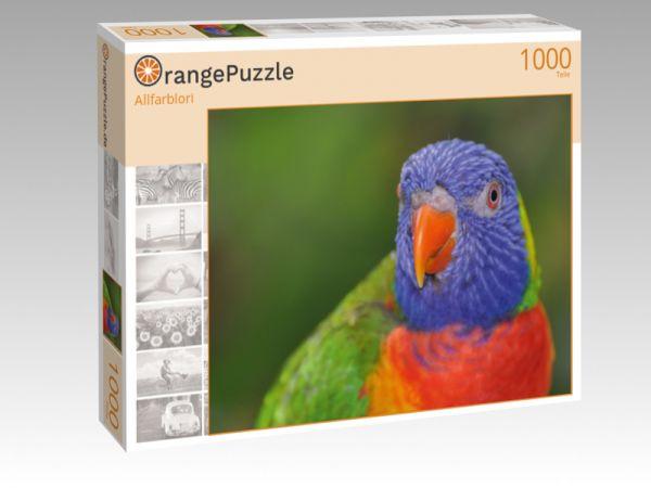 """Puzzle Motiv """"Allfarblori"""" - Puzzle-Schachtel zu 1000 Teile Puzzle"""