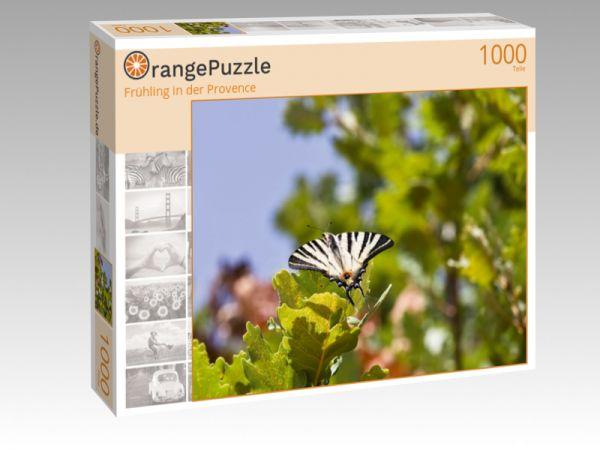 """Puzzle Motiv """"Frühling in der Provence"""" - Puzzle-Schachtel zu 1000 Teile Puzzle"""