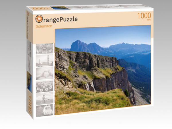 """Puzzle Motiv """"Dolomiten"""" - Puzzle-Schachtel zu 1000 Teile Puzzle"""