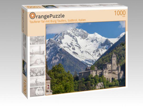 """Puzzle Motiv """"Tauferer Tal mit Burg Taufers, Südtirol, Italien"""" - Puzzle-Schachtel zu 1000 Teile Puzzle"""