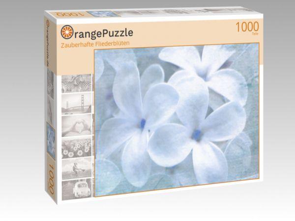 """Puzzle Motiv """"Zauberhafte Fliederblüten"""" - Puzzle-Schachtel zu 1000 Teile Puzzle"""