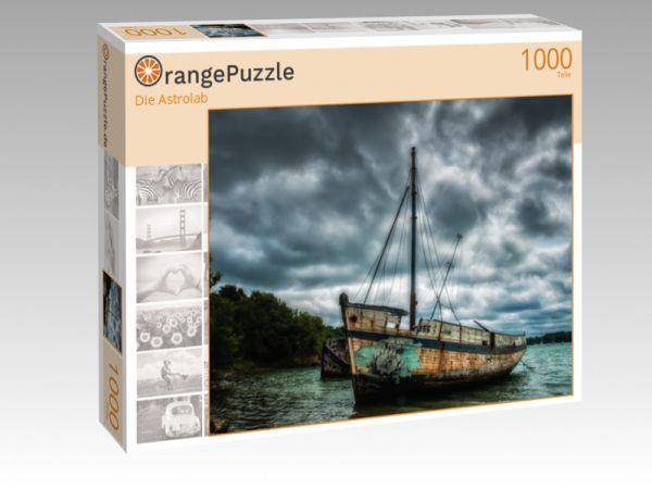 "Puzzle Motiv ""Die Astrolab"" - Puzzle-Schachtel zu 1000 Teile Puzzle"