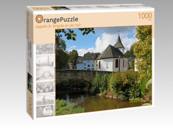 """Puzzle Motiv """"Kapelle St. Brigida an der Kyll"""" - Puzzle-Schachtel zu 1000 Teile Puzzle"""