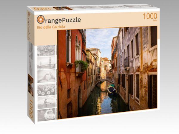 """Puzzle Motiv """"Rio della Cazziola"""" - Puzzle-Schachtel zu 1000 Teile Puzzle"""