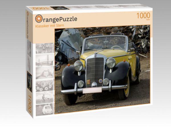 """Puzzle Motiv """"Klassiker mit Stern"""" - Puzzle-Schachtel zu 1000 Teile Puzzle"""